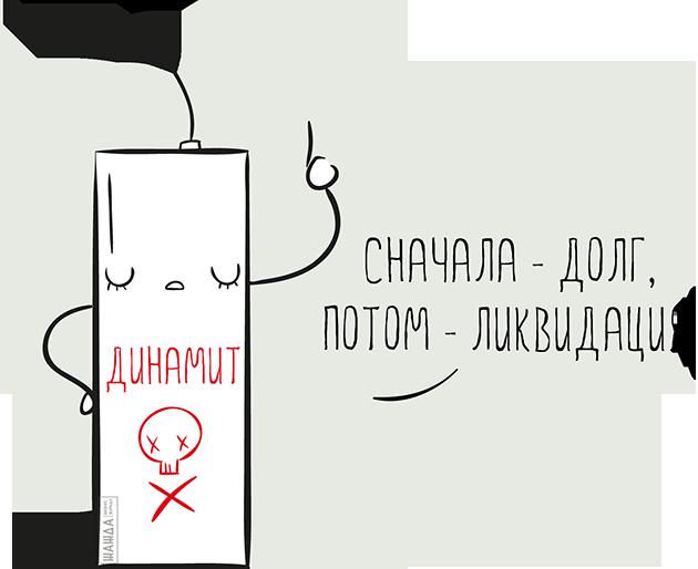Ликвидация ООО с долгами: пошаговая инструкция