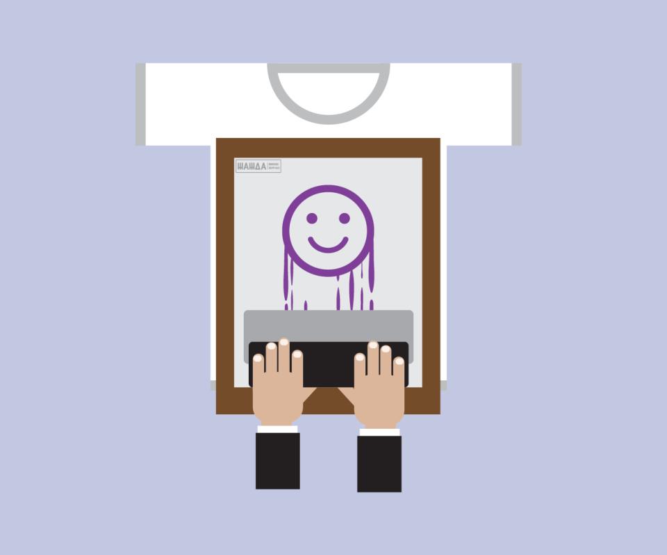 двусторонняя печать на футболках