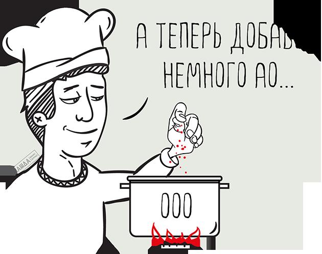 Присоединение АО к ООО