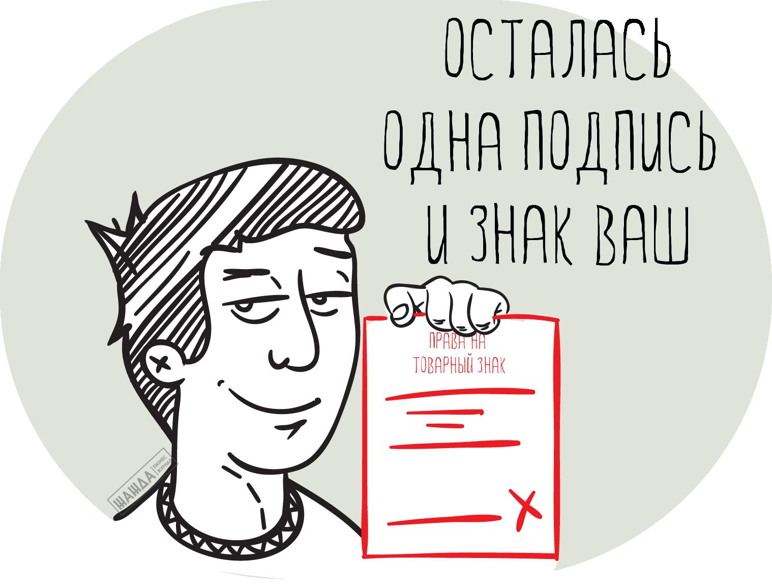 Передача прав на товарный знак