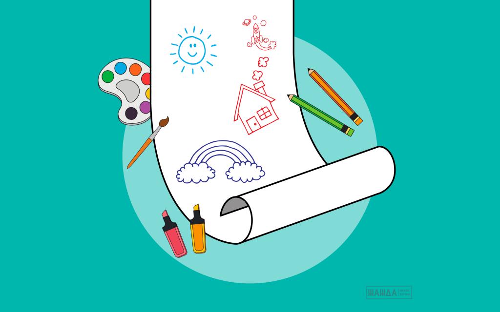 Обои-раскраски для детей и взрослых: бизнес-идея, как ...