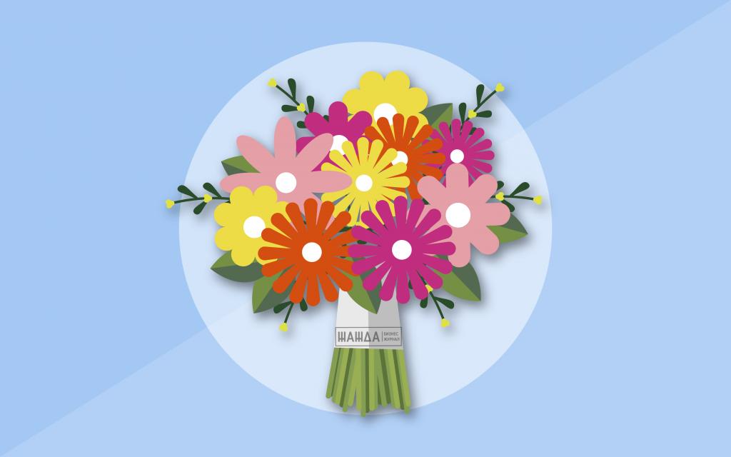 Франшизы цветочных магазинов: каталог франчайзинга по продаже цветов