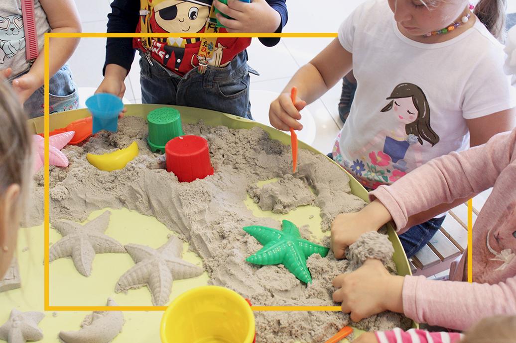 Песок своими руками для детей 62