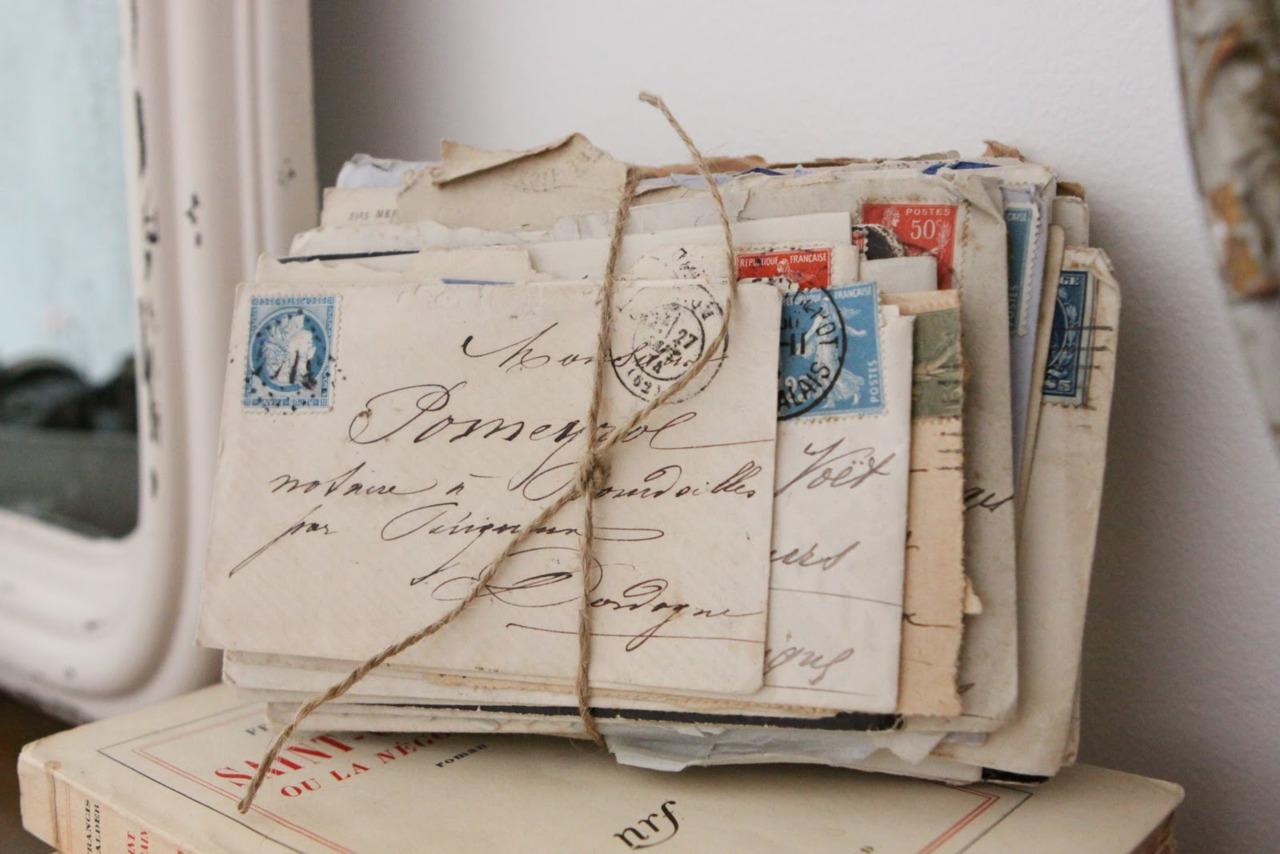 Как по английский будет получать письмо и открытки