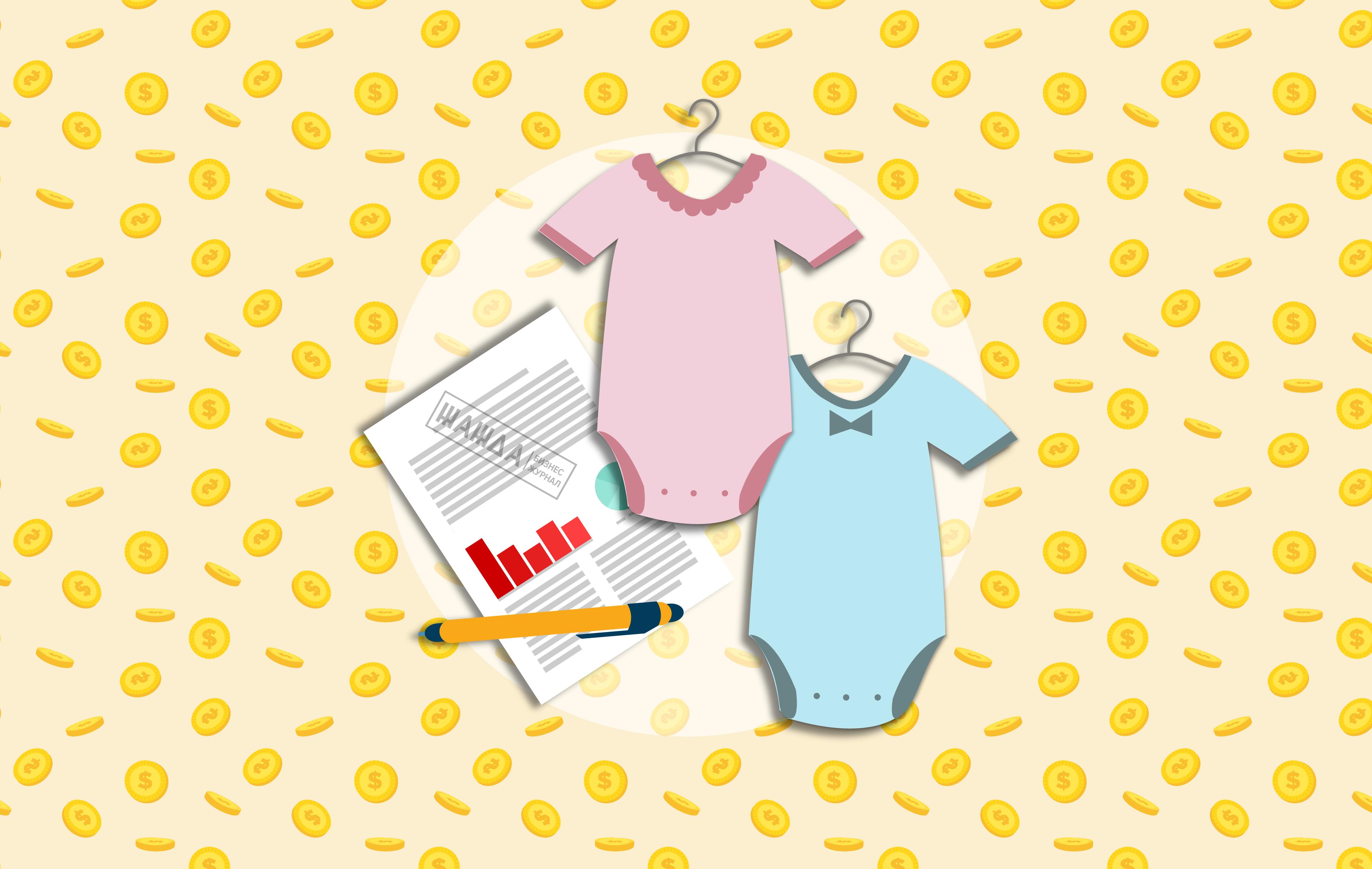 Бизнес-идея производства детской одежды